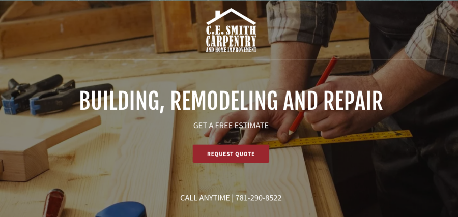 C.E. Smith Carpentry & Home Improvement | Graphic Design